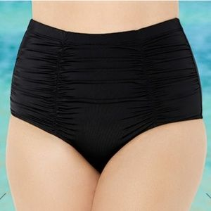 🆕 👙 Shirred High Waist Bikini Brief
